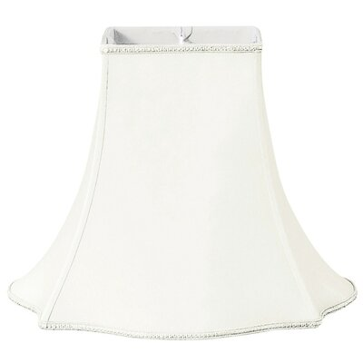 Timeless 10 Silk/Shantung Bell Lamp Shade Color: White/Off-White