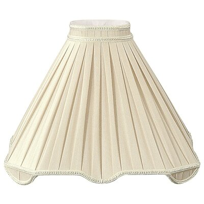 Timeless 17 Silk/Shantung Empire Lamp Shade Color: Antique Gold/Off-White