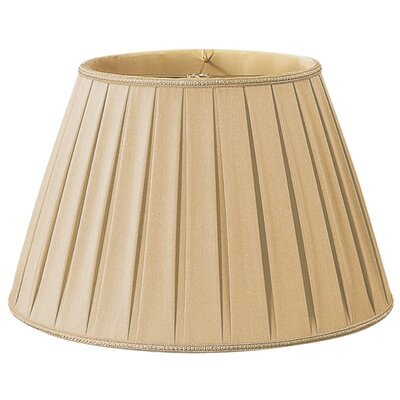 Timeless 14.5 Silk/Shantung Empire Lamp Shade Color: Gypsy Gold