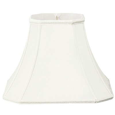 Timeless 10 Silk/Shantung Bell Lamp Shade Color: White