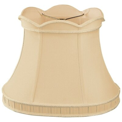 Timeless 12 Silk/Shantung Bell Lamp Shade Color: Gypsy Gold