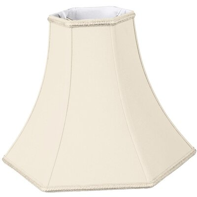 Timeless 10 Silk/Shantung Bell Lamp Shade Color: Eggshell