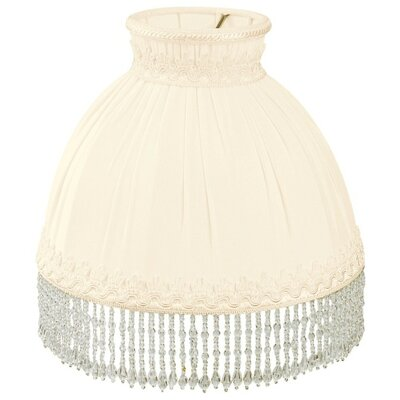 Timeless 8 Silk/Shantung Novelty Lamp Shade Color: Eggshell