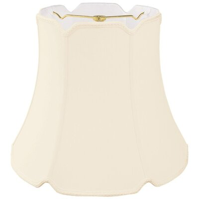Timeless 12 Silk/Shantung Bell Lamp Shade Color: Eggshell