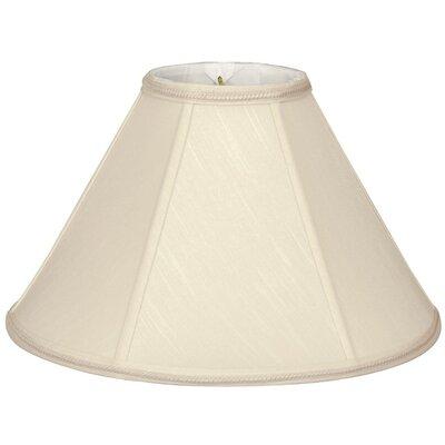 Timeless 14 Silk/Shantung Empire Lamp Shade Color: Beige
