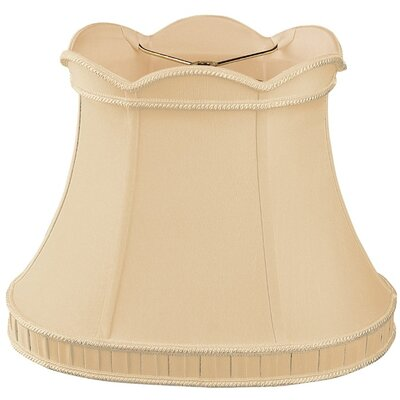 Timeless 14 Silk/Shantung Bell Lamp Shade Color: Gypsy Gold