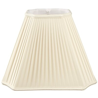 Timeless 11 Silk/Shantung Empire Lamp Shade Color: Beige