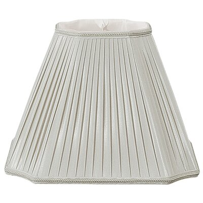 Timeless 11 Silk/Shantung Empire Lamp Shade Color: Gray
