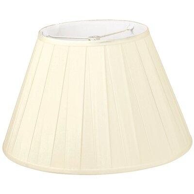 Timeless 12 Silk/Shantung Empire Lamp Shade Color: Beige