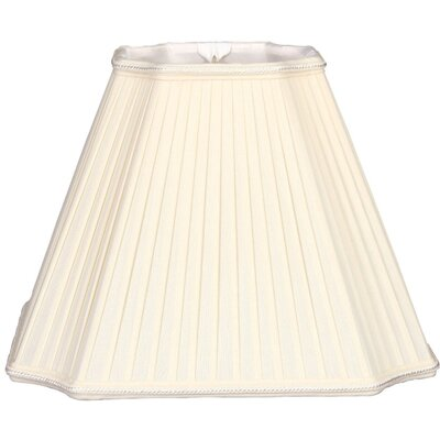 Timeless 15 Silk/Shantung Empire Lamp Shade Color: Eggshell/Off-White