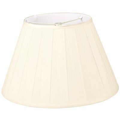 Timeless 12 Silk/Shantung Empire Lamp Shade Color: Eggshell