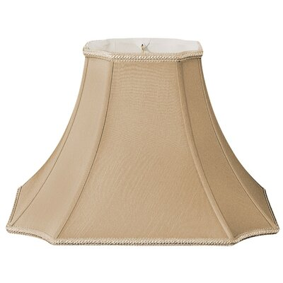 Timeless 12 Silk/Shantung Bell Lamp Shade Color: Antique Gold