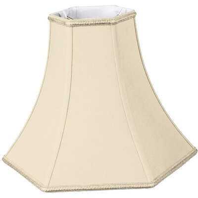 Timeless 16 Silk/Shantung Bell Lamp Shade Color: Beige