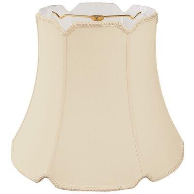 Timeless 12 Silk/Shantung Bell Lamp Shade Color: Beige