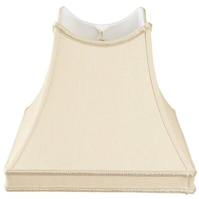 Timeless 10 Silk/Shantung Novelty Lamp Shade Color: Beige