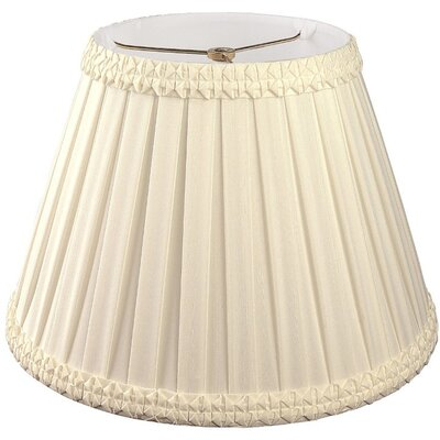 Timeless 10 Silk/Shantung Empire Lamp Shade Color: Beige/Off-White