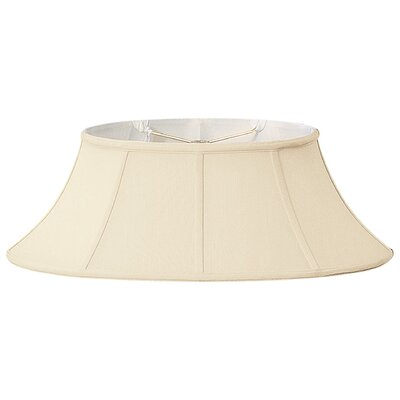 Timeless 20 Silk/Shantung Bell Lamp Shade Color: Beige