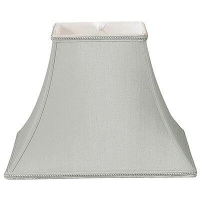 Timeless 12 Silk/Shantung Bell Lamp Shade Color: Gray