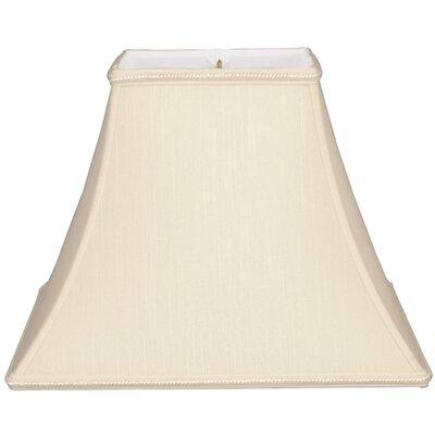 Timeless 14 Silk/Shantung Bell Lamp Shade Color: Beige