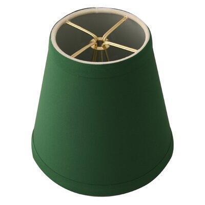 5 Silk Empire Candelabra Shade Color: Green