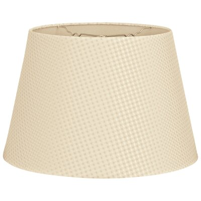 Timeless Tapered 16 Shantung Empire Lamp Shade