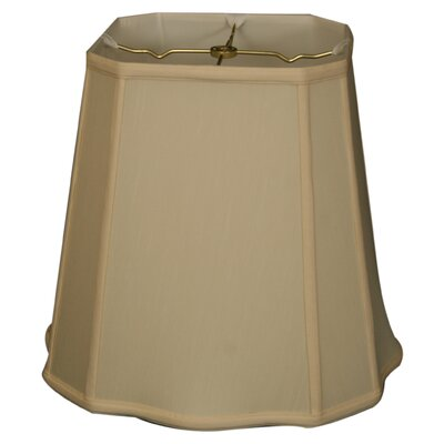 Timeless 12 Silk Empire Lamp Shade Color: Eggshell/Off White