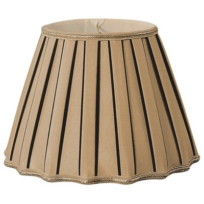 Timeless 16 Silk/Shantung Empire Lamp Shade Color: Antique Gold