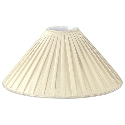 Timeless 20 Silk/Shantung Empire Lamp Shade Color: Beige