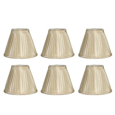 6 Silk Empire Lamp Shade Color: Gold