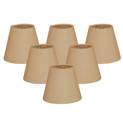 5 Shantung Empire Candelabra Shade Color: Antique Gold