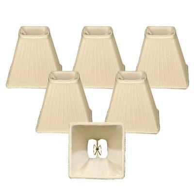 5 Silk Empire Lamp Shade Color: Cream