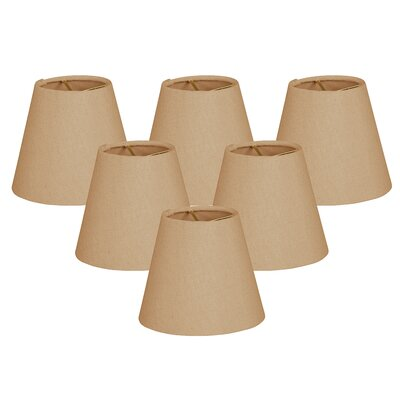 6 Silk Empire Lamp Shade Color: Antique Gold