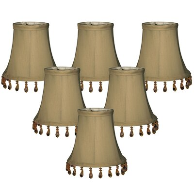 5 Silk Bell Candelabra Shade Color: Antique Gold