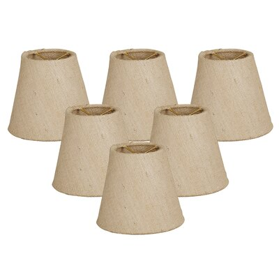 6 Linen Empire Candelabra Shade