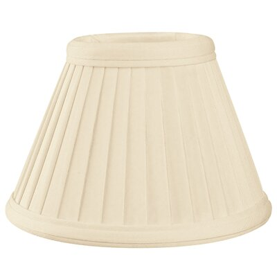 6 Silk Empire Candelabra Shade Color: Eggshell