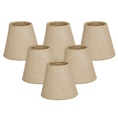 5 Linen Empire Candelabra Shade