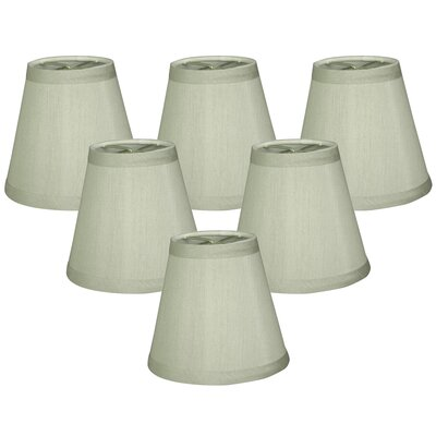 6 Silk Empire Candelabra Shade