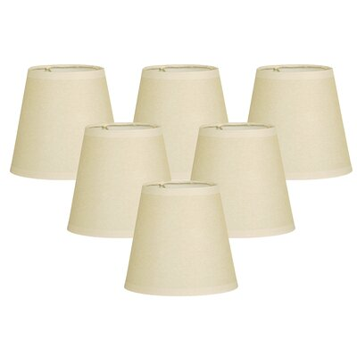 Parchment 6 Paper Empire Lamp Shade Color: Beige