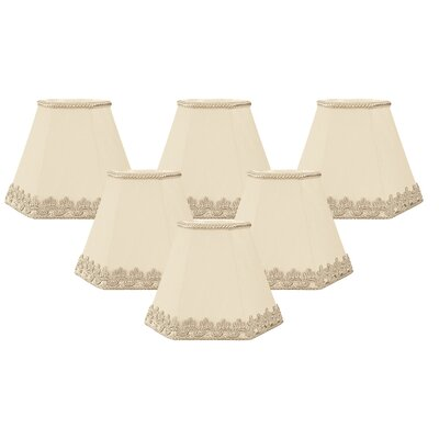 5 Silk Empire Candelabra Shade