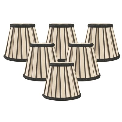 5 Shantung Empire Candelabra Shade