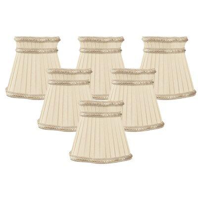 5 Shantung Bell Candelabra Shade