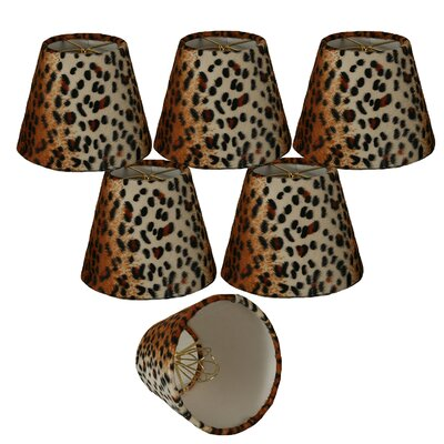 5 Faux Fur Empire Candelabra Shade