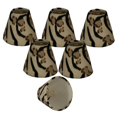 6 Faux Fur Empire Lamp Shade