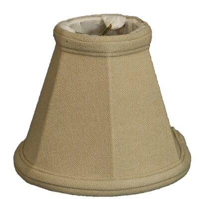 5 Linen Bell Candelabra Shade