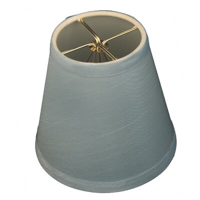 5 Silk Empire Candelabra Shade Color: Blue
