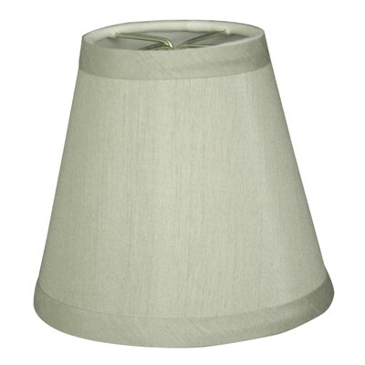 5 Silk Empire Candelabra Shade Color: Gray
