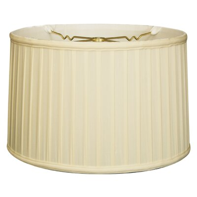 Timeless 18 Silk Drum Lamp Shade Color: Eggshell/Off White