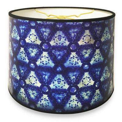 Kaleidoscope Designer Hard Back 10 Paper Drum Lamp Shade