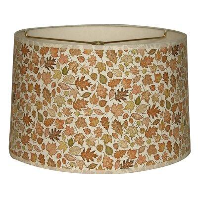 Autumn Leaves Designer Hard Back 10 Paper Drum Lamp Shade