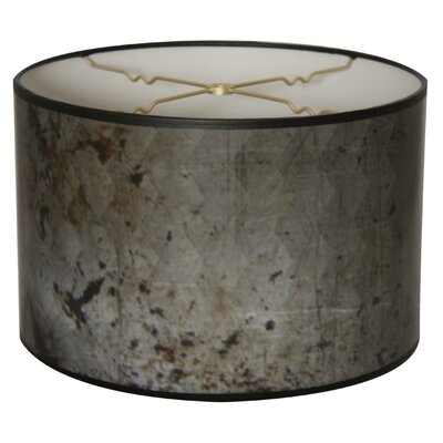 Snakeskin Diamond Designer Hard Back 10 Paper Drum Lamp Shade